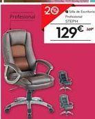 Oferta de Silla de escritorio profesional STEPH por 129€