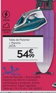 Oferta de Tabla de planchar + Plancha Jata por 54,99€