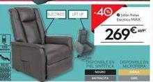 Oferta de Sillón relax electrico MAX por 269€