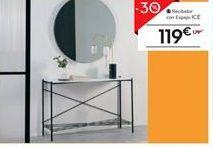 Oferta de Recibidor con espejo ICE por 119€