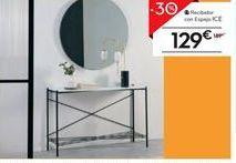 Oferta de Recibidor con espejo ICE por 129€