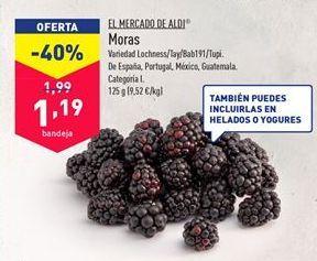 Oferta de Frutas del bosque por 1,19€