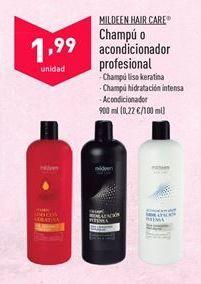 Oferta de Champú mildeen por 1,99€