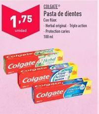 Oferta de Dentífrico Colgate por 1,75€