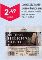 Oferta de Queso curado Camino del Tormes por 2,49€