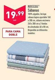 Oferta de Sábanas por 19,99€
