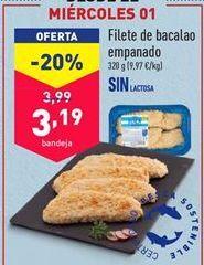 Oferta de Bacalao por 3,19€