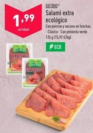 Oferta de Salami gutbio por 1,99€