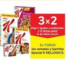 Oferta de   En TODOS los cereales y barritas Special K KELLOGG'S por