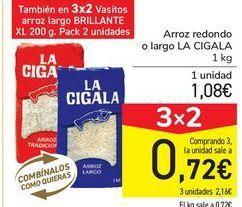 Oferta de Arroz redondo  por 1,08€