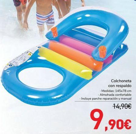 Oferta de Colchoneta con respaldo  por 9,9€