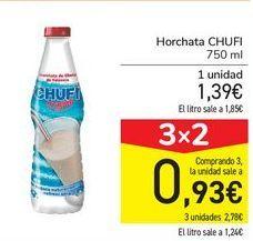 Oferta de Horchata Chufi  por 1,39€