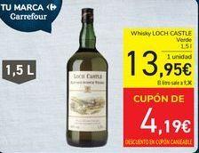 Oferta de Whisky LOCH CASTLE  por 13,95€