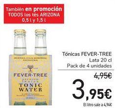 Oferta de Tónica FEVER-TREE por 3,95€