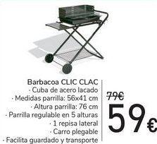 Oferta de Barbacoa CLIC CLAC  por 59€