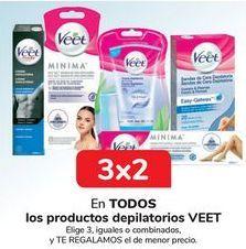 Oferta de En TODOS los productos depilatorios VEET. por