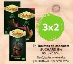 Oferta de En tabletas de chocolate SUCHARD Bio por