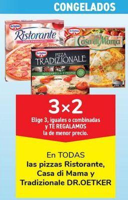 Oferta de En TODAS las pizzas Ristorante, Casa di Mama y Tradizionale DR.OETKER por