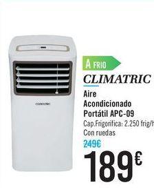Oferta de Aire acondicionado Portátil APC-09 CLIMATRIC  por 189€