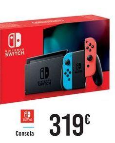 Oferta de Consola Nintendo Switch por 319€