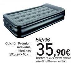 Oferta de Colchón Premium individual  por 35,9€