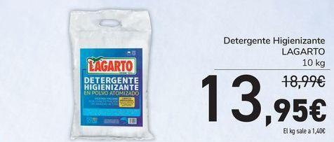 Oferta de Detergente Higienizante LAGARTO por 13,95€