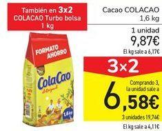 Oferta de Cacao COLACAO  por 9,87€