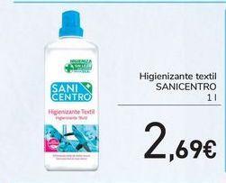 Oferta de Higienizante textil SANICENTRO por 2,69€
