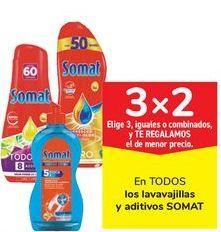 Oferta de En TODOS los lavavajillas y aditivos SOMAT por