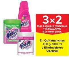 Oferta de En Quitamanchas y Eliminaolores VANISH por