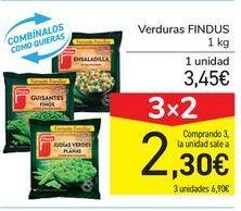 Oferta de Verduras FINDUS por 3,45€