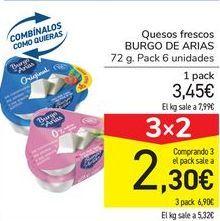 Oferta de Queso fresco Burgo de Arias por 3,45€