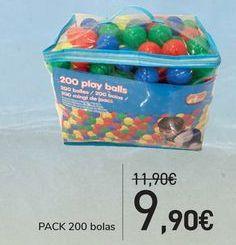 Oferta de PACK 200 bolas  por 9,9€