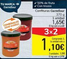 Oferta de Confitura Carrefour  por 1,65€