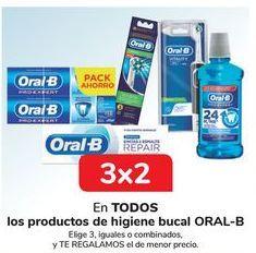 Oferta de En TODOS los productos de higiene bucal ORAL-B por