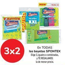 Oferta de En TODAS las bayetas SPONTEX. por