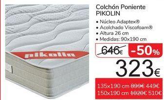 Oferta de Colchón Poniente PIKOLIN  por 323€