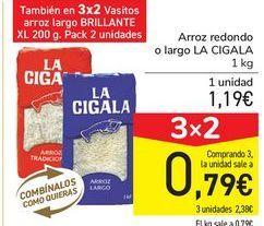 Oferta de Arroz redondo  por 1,19€
