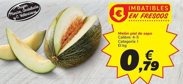 Oferta de Melón piel de sapo Carrefour por 0,79€