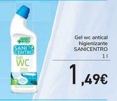Oferta de Gel wc antical higienizante SANICENTRO por 1,49€