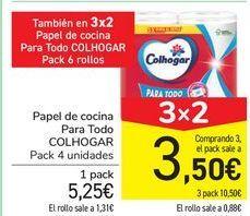 Oferta de Papel de cocina Para Todo COLHOGAR  por 5,25€