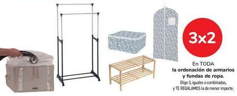 Oferta de En TODA la ordenación de armarios y fundas de ropa.  por