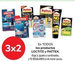 Oferta de En TODOS los productos LOCTITE y PATTEX.  por
