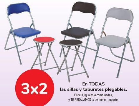 Oferta de En TODAS las sillas y taburetes plegables. por