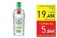 Oferta de Ginebra TANQUERAY  por 19,45€