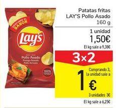 Oferta de Patatas fritas LAY'S Pollo Asado por 1,5€