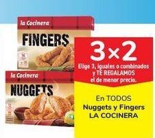 Oferta de En TODOS Nuggets y Fingers LA COCINERA por