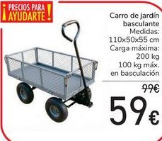 Oferta de Carro de jardín basculante  por 59€