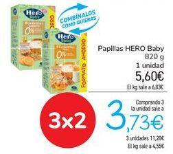 Oferta de Papillas HERO Baby  por 5,6€