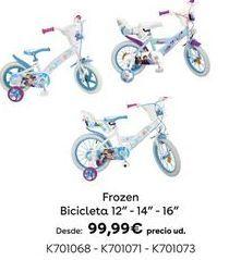Oferta de Bicicleta Frozen por 99,99€
